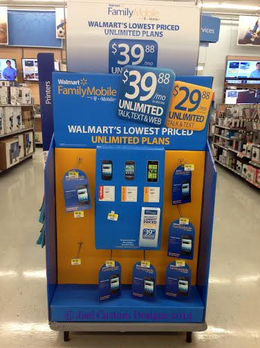 Walmart Family Mobile In Store Display