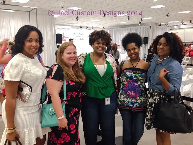 Group Blogger Clinton KElly Macy's Event Pic