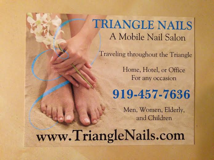 Triangle Nails Postcard