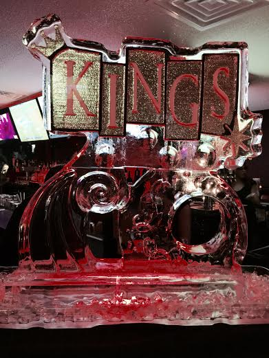 Kings Ice Sculpture