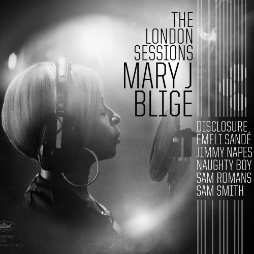 Mary J. Blige The London Sessions Cover