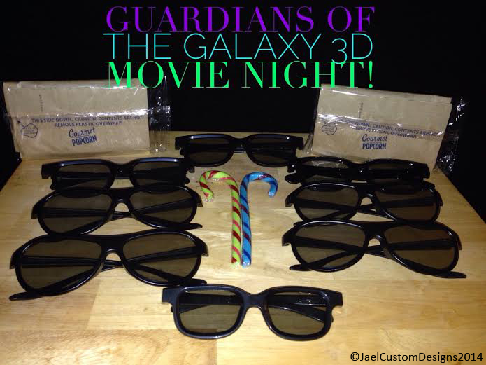 Guardians of the Galaxy 3D Movie Night