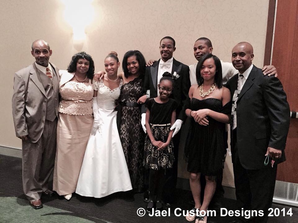 Family at AKA Debutante Cotillion