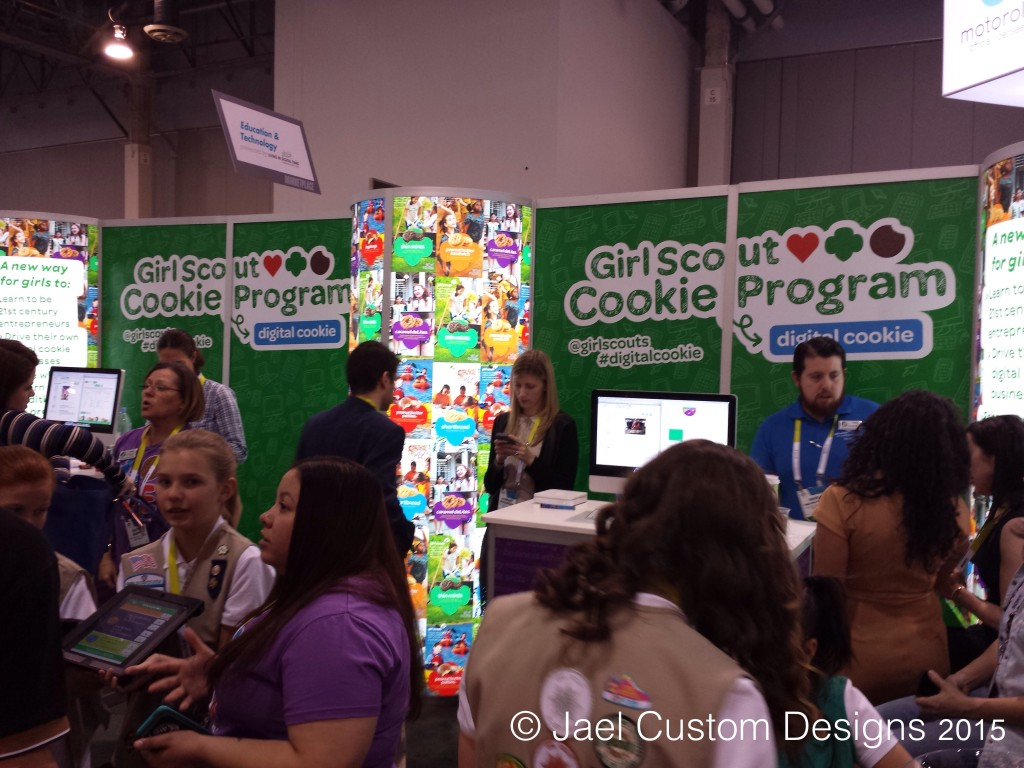 Girl Scouts at CES