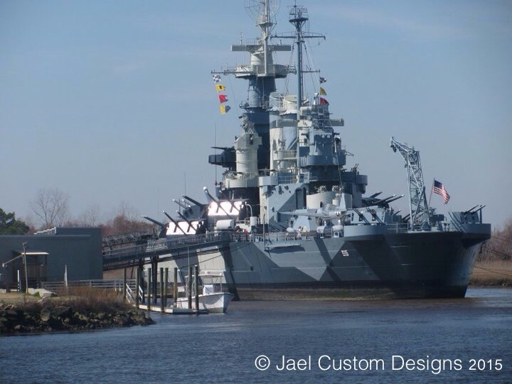 North Carolina USS Battleship