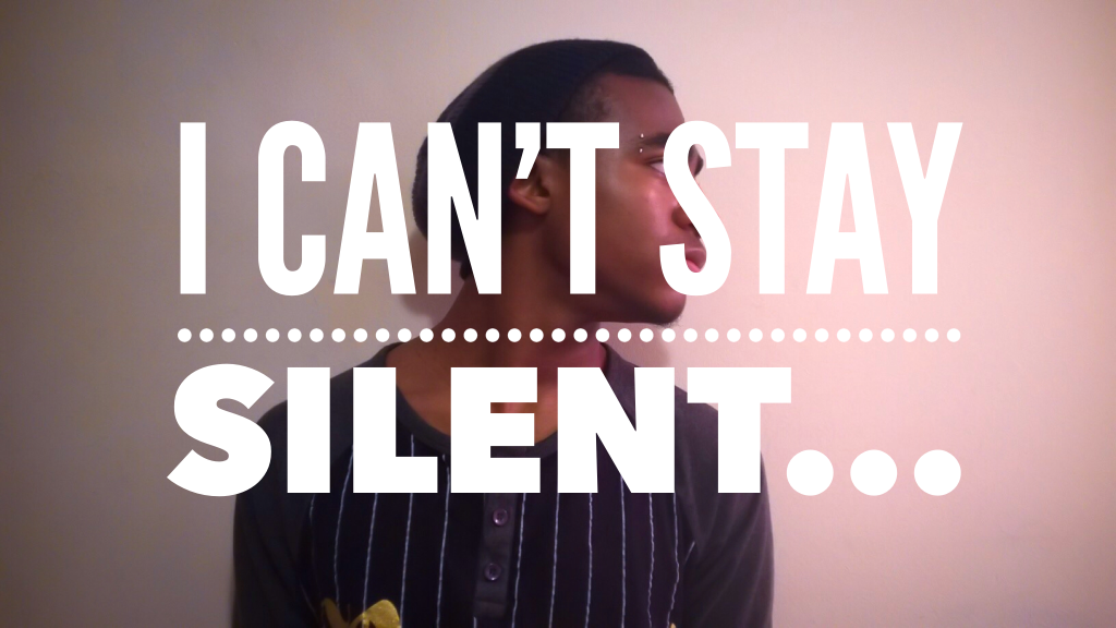 I Can't Stay Silent