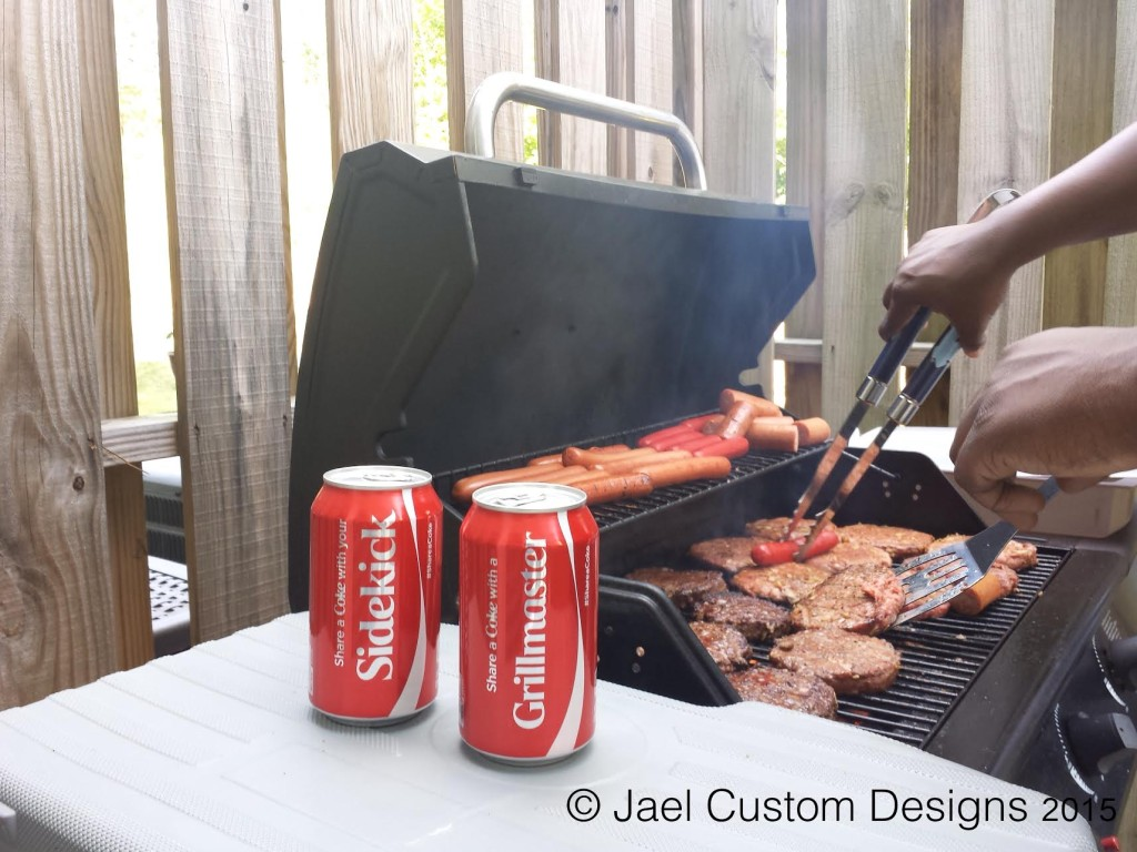 Share A Coke Grilling