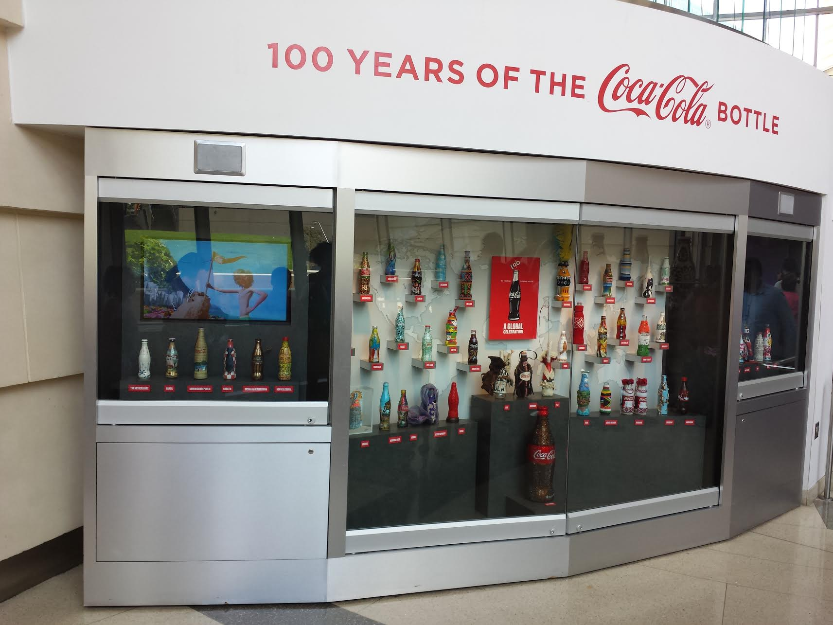 100 Years of Coca Cola Bottle