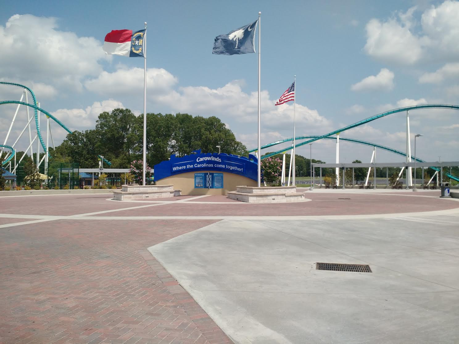 Carowinds Enterance