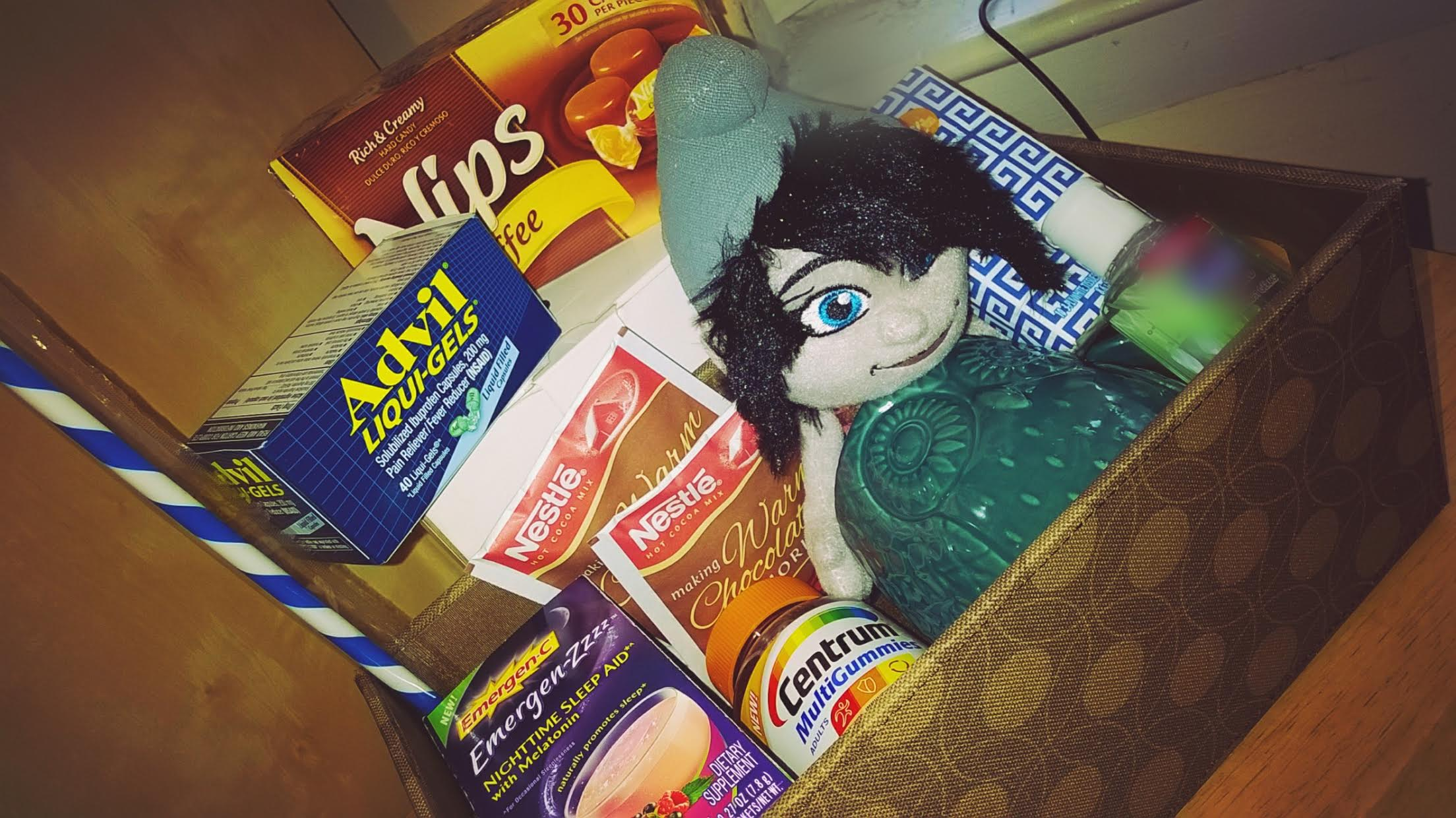 College Stay Healthy Care Package