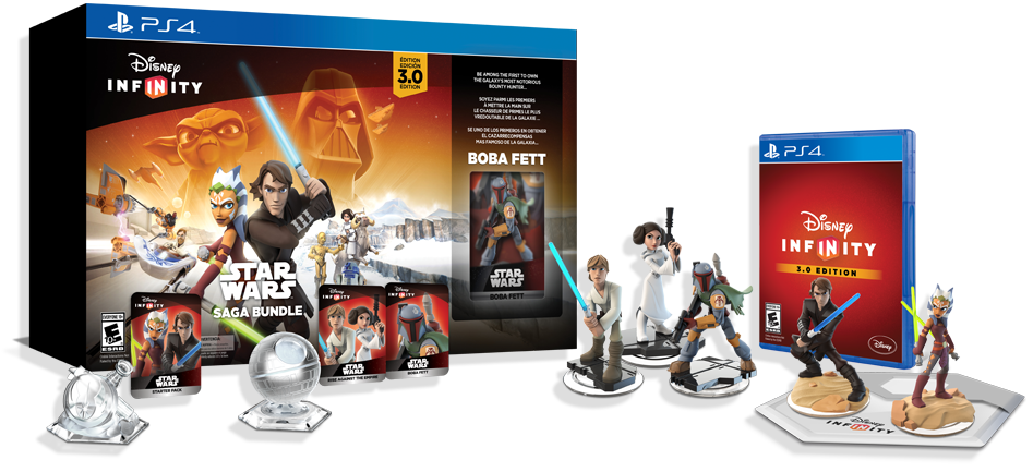 Disney Infinity Star Wars Saga Bundle