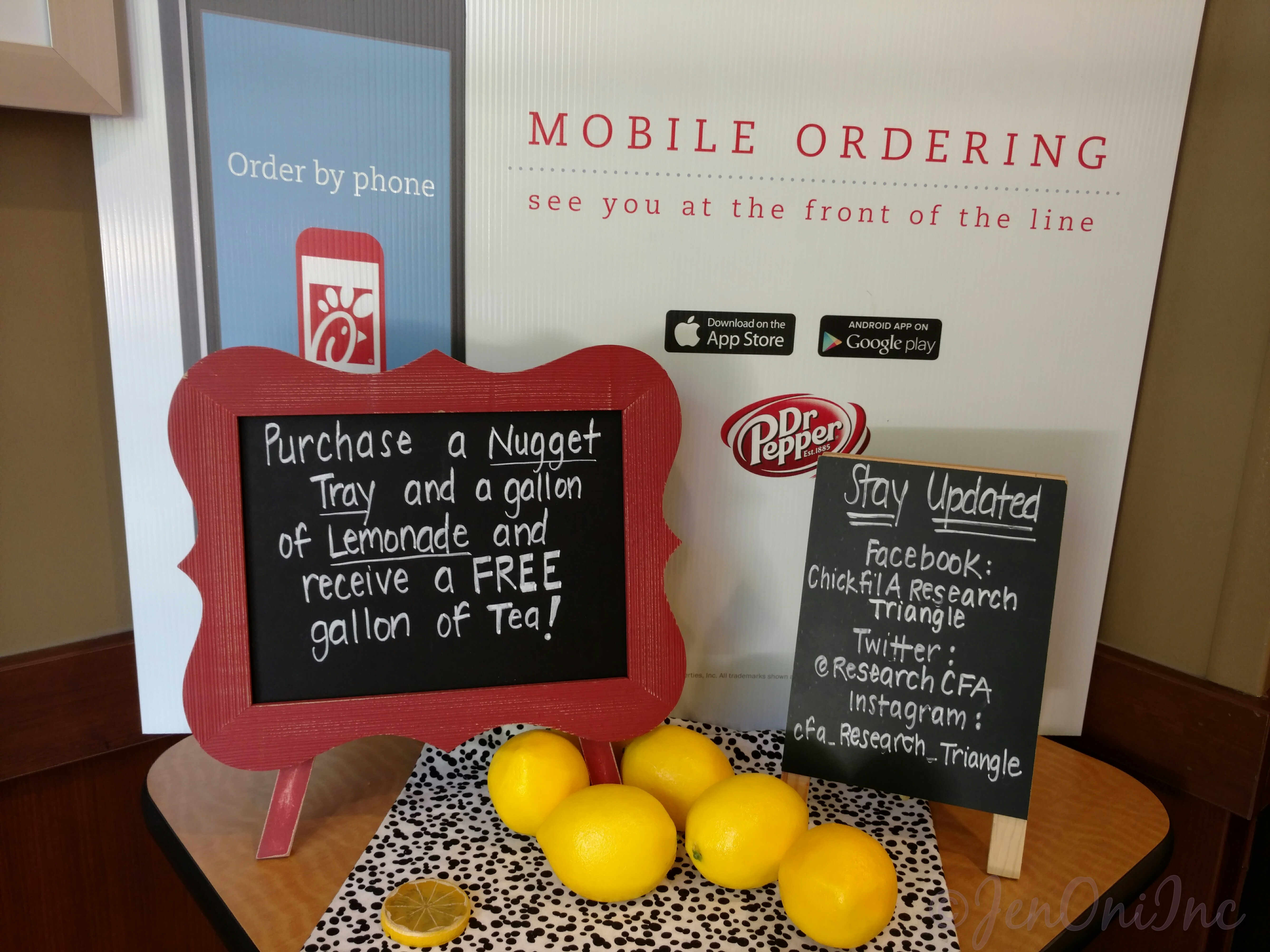 Chick-Fil-A Mobile Ordering