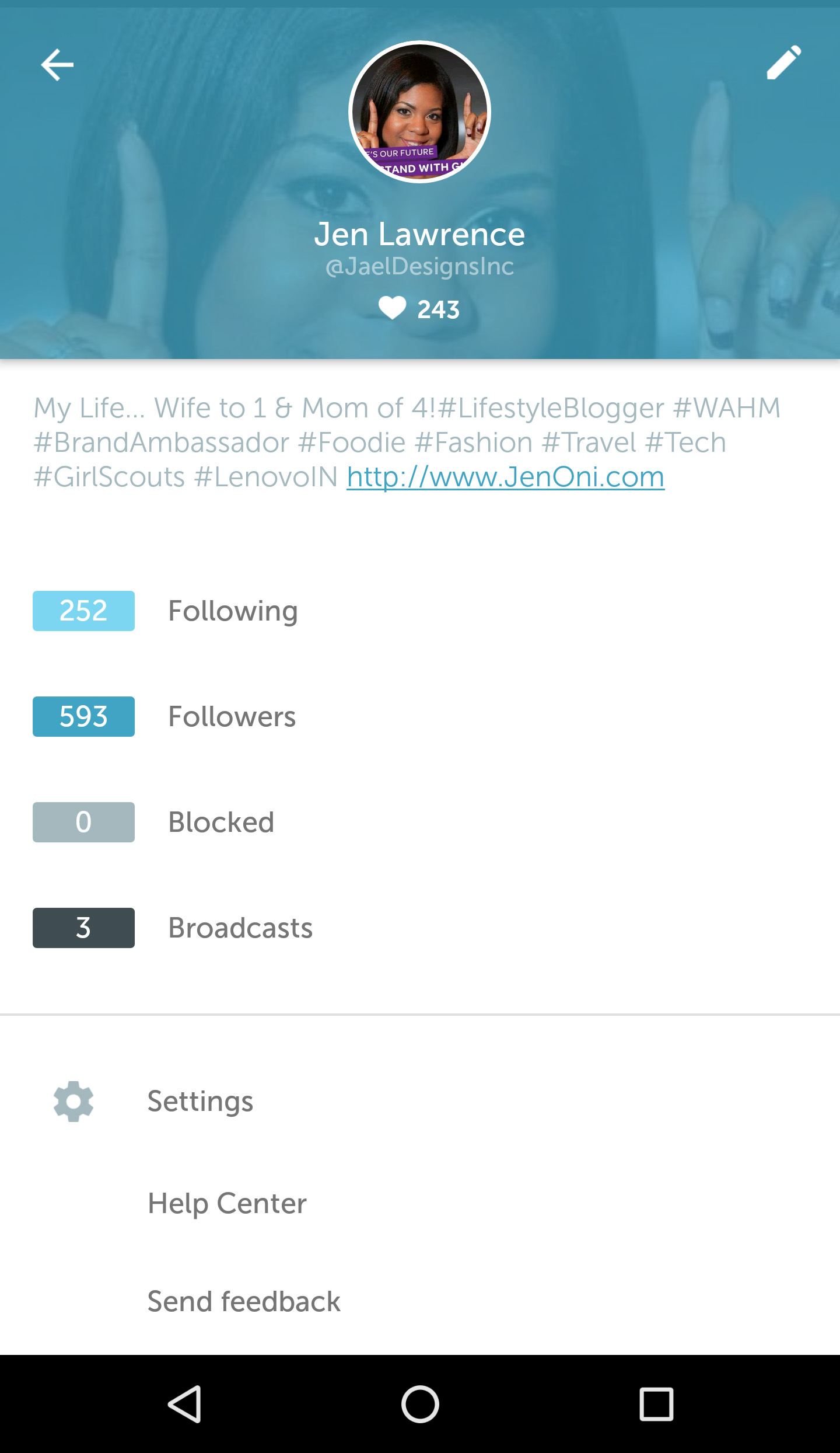 Periscope Username Change (Old)