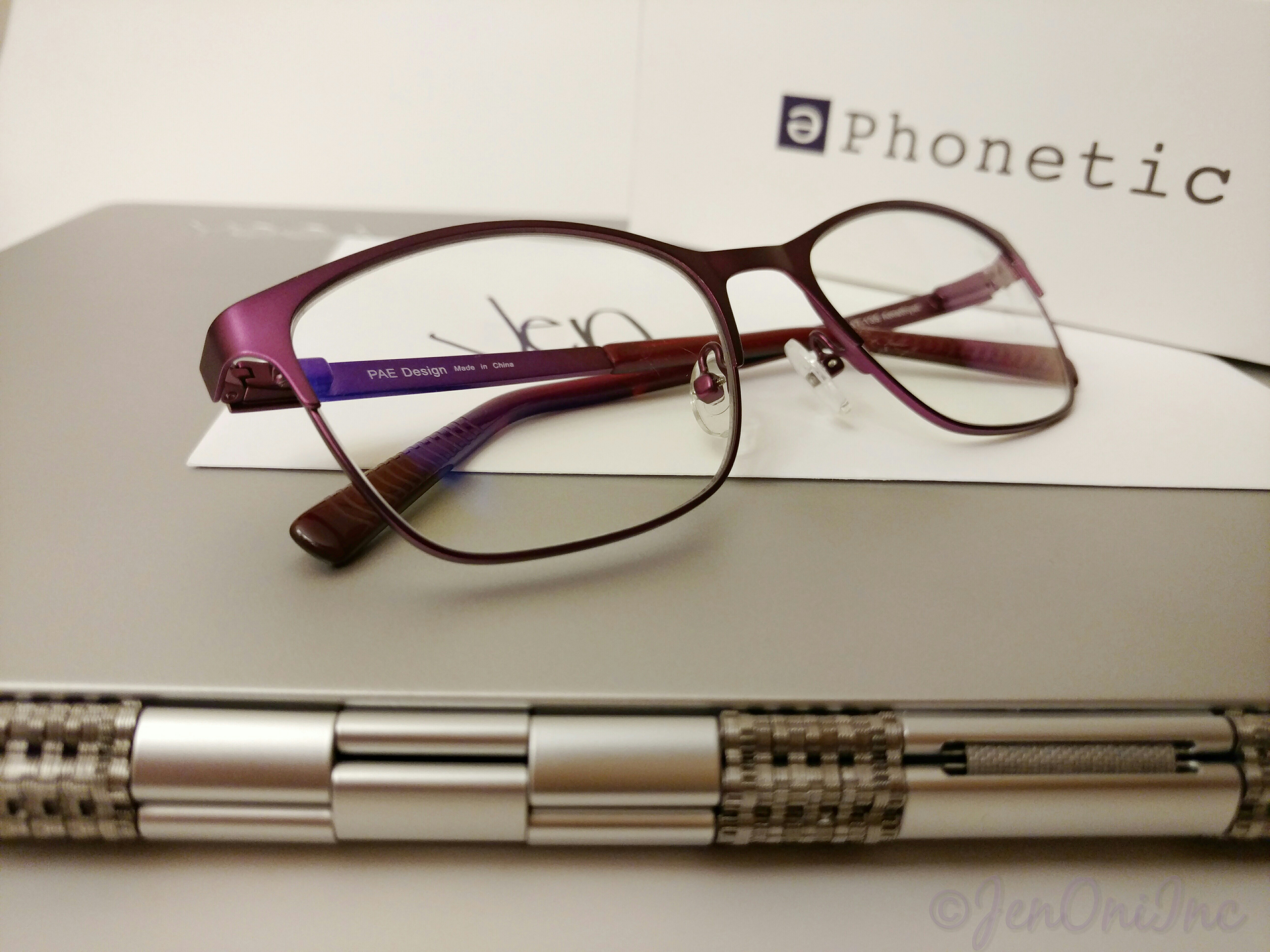 Phonetic Eyewear