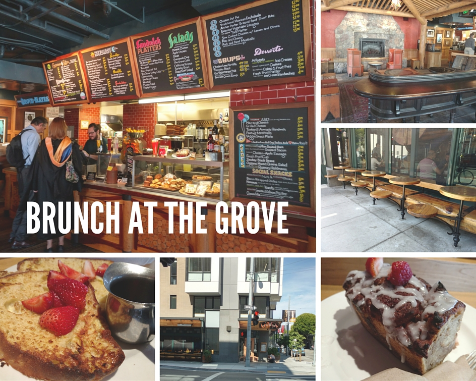 Brunch at the Grove