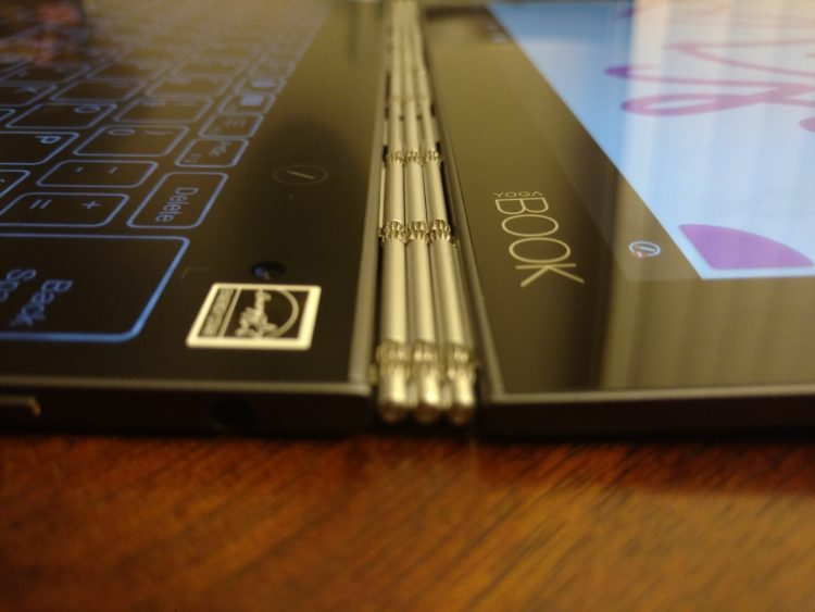 Lenovo YOGA Book Flat Lay