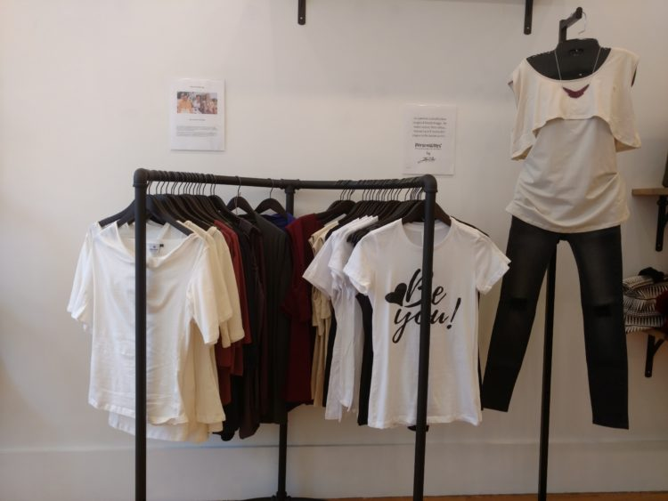 Liberation Threads Display