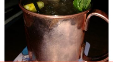 DIY Pineapple Moscow Mule Cocktail